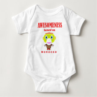 Baby Bodysuit    Awesomeness Turned On By Morocko ベビーボディスーツ