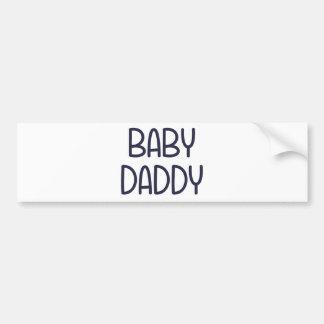 Baby Daddy (すなわち父)ベビーのママ バンパーステッカー