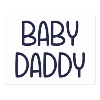 Baby Daddy (すなわち父)ベビーのママ ポストカード