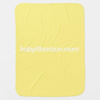 """""""baby@horizon.mom""""のベビーカー/Carseat毛布 ベビー ブランケット"""
