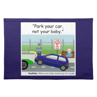 Baby Safety Gifts ランチョンマット