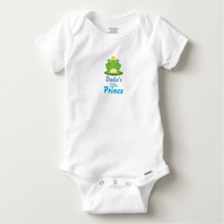 Baby Shirt Dadaの小さい王子 ベビーワンシー