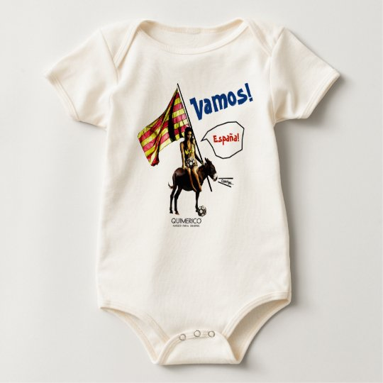 Baby VAMOS!España!  No.10 ベビーボディスーツ