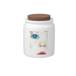 Babyfaceキャンデーの瓶 キャンディー皿
