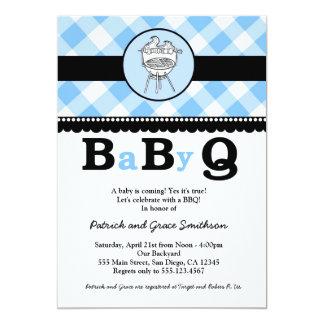 BaByQ BBQのベビーシャワー招待状 カード