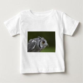 BabysのTシャツ-ベビーの灰色のフクロウ ベビーTシャツ