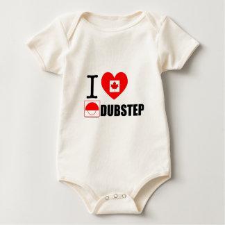 Babys愛Dubstep2 ベビーボディスーツ