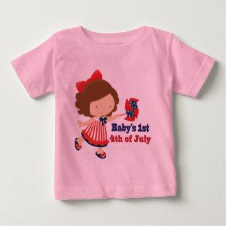 Babys第1 7月第4 ベビーTシャツ