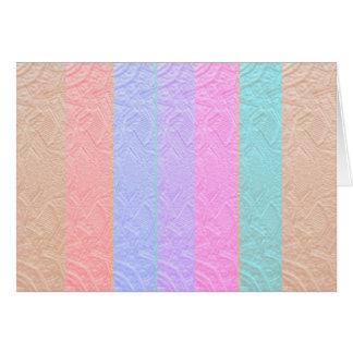 Babysoftスペクトル: 銀ぱくのエンボスのアートワーク カード