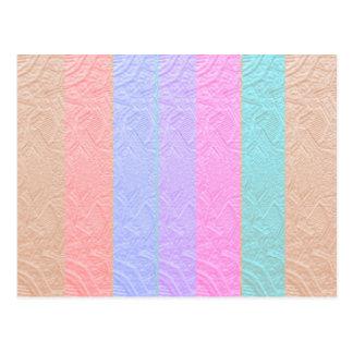 Babysoftスペクトル: 銀ぱくのエンボスのアートワーク ポストカード