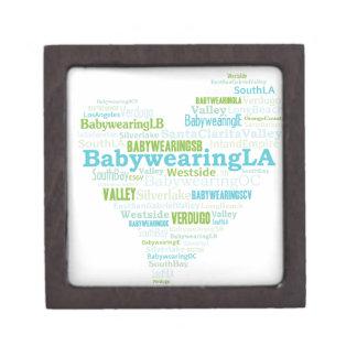 BabywearingのLAのハートのロゴ ギフトボックス