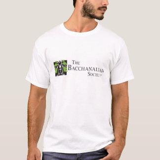 Bacchanalian社会ライトTシャツ Tシャツ