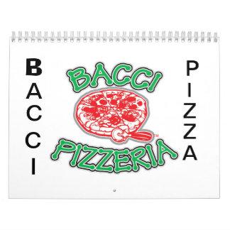 BACCIピザカレンダー カレンダー