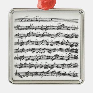 Bachのチェロの続きの吊り下げ式のオーナメント メタルオーナメント