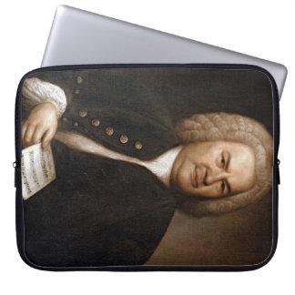 Bachのポートレート ラップトップスリーブ