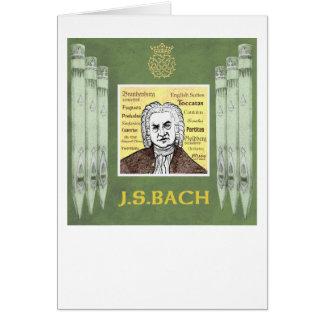 BACHの挨拶状 カード