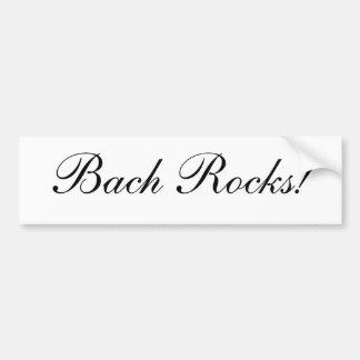 Bachの石! バンパーステッカー