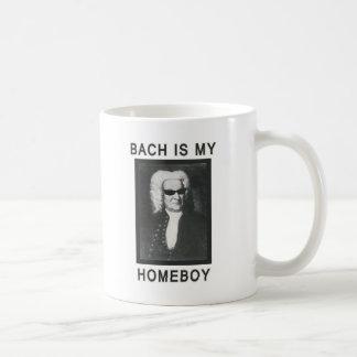 Bachは私の同郷人です コーヒーマグカップ