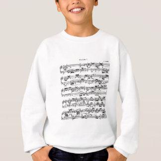 Bach著楽譜 スウェットシャツ