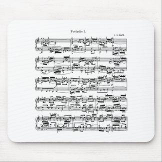 Bach著楽譜 マウスパッド