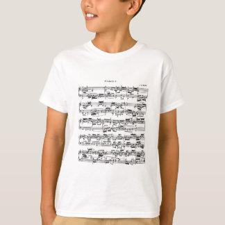 Bach著楽譜 Tシャツ