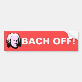 Bach バンパーステッカー