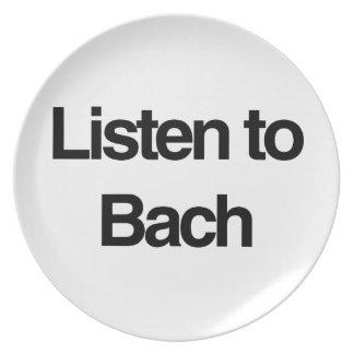 Bach プレート