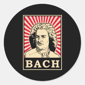 Bach 丸形シール・ステッカー