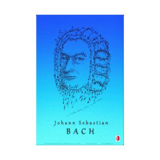 Bach: 音楽に直面して下さい キャンバスプリント