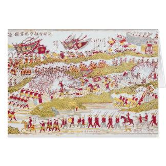 Bach Ninhでフランス人を撃退するLiou カード