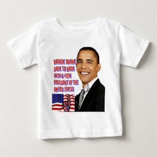 Back_に戻るバラック・オバマ、 ベビーTシャツ