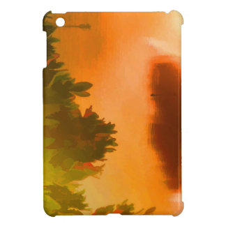Backcountryの日没2 iPad Miniカバー