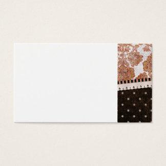 background10 SCRAP-BOOKINGは花花を模造します 名刺