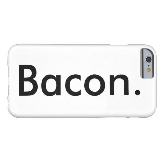 Baconlifeのベーコンの電話箱 Barely There iPhone 6 ケース