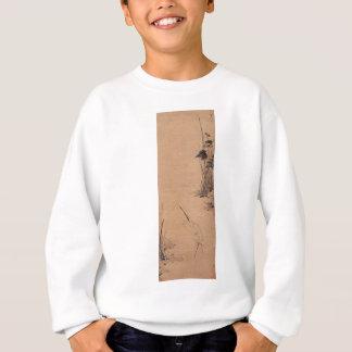 Bada Shanren著プールによる白鷺 スウェットシャツ