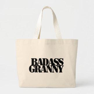 Badassのおばあさん ラージトートバッグ