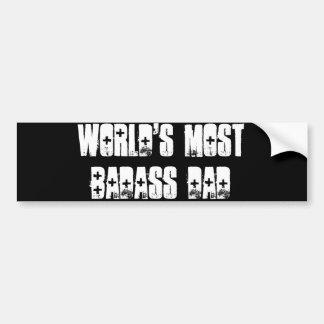 Badassのパパ バンパーステッカー