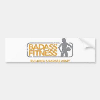 Badassのフィットネスのバンパーステッカー バンパーステッカー