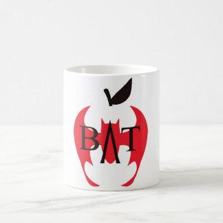 Badassの先生連合-こうもりのりんご コーヒーマグカップ