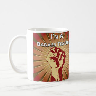 Badassの先生連合 コーヒーマグカップ
