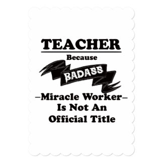 Badassの先生 カード