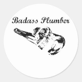 Badassの鉛管工 ラウンドシール