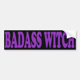 Badassの魔法使い バンパーステッカー