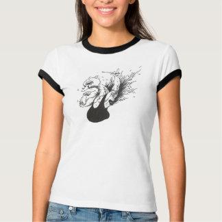 Badassの鳥 Tシャツ