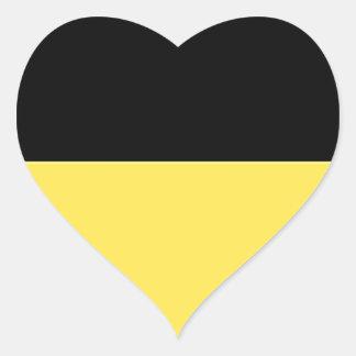 Baden-Württemberg (ドイツ)の旗 ハートシール