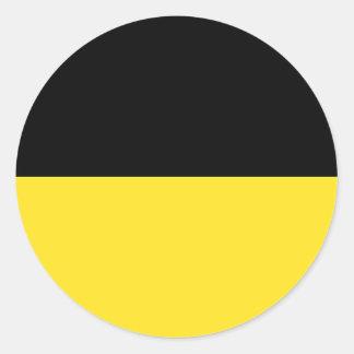 Baden-Württemberg (ドイツ)の旗 ラウンドシール