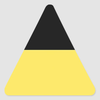Baden-Württemberg (ドイツ)の旗 三角形シール