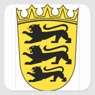 Baden-Württemberg (ドイツ)の紋章付き外衣 スクエアシール