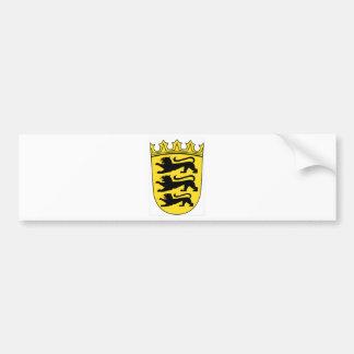 Baden-Württemberg (ドイツ)の紋章付き外衣 バンパーステッカー