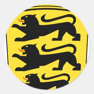 Baden-Württemberg (ドイツ)の紋章付き外衣 ラウンドシール